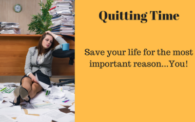 Would you quit your job to save your life?